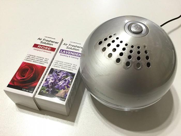 空気洗浄機『シャイニーS』+アロマソリューション
