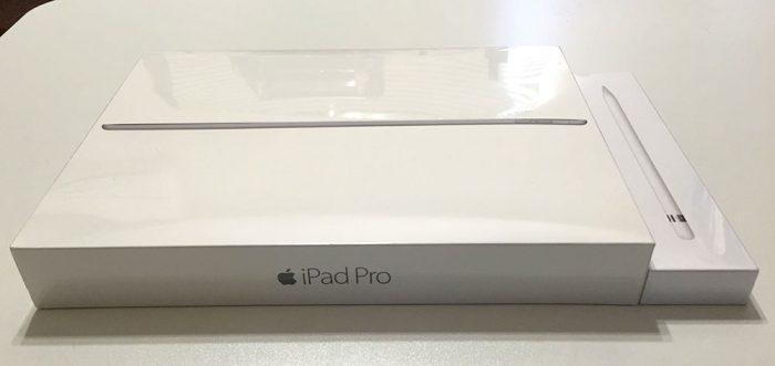 iPad Pro+Apple Pencil/商品パッケージ