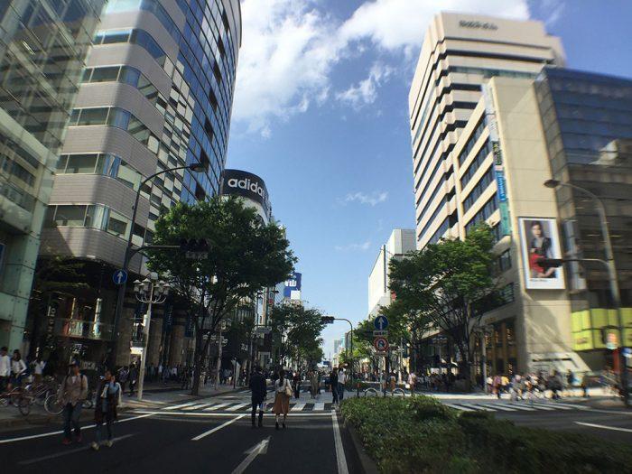 栄の大津通り/歩行者天国の日