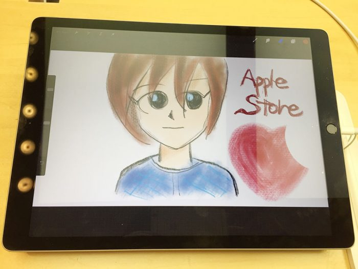 Apple Pencil+Procreateで絵を描いてみた