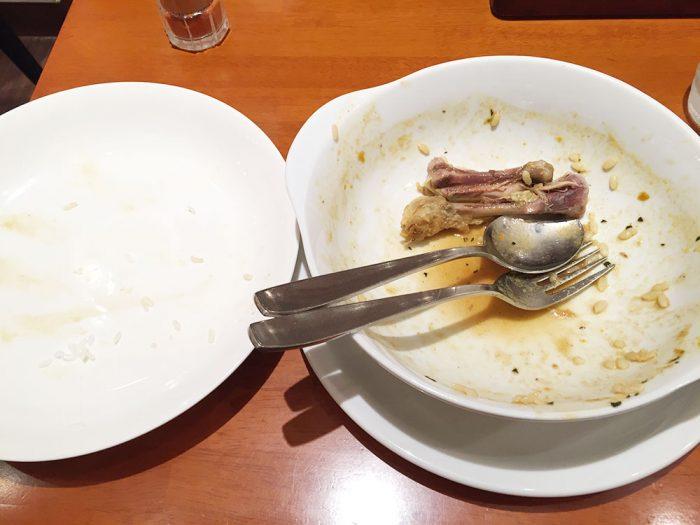 札幌カリー ヨシミ(名古屋パルコ店)/スープカレー完食