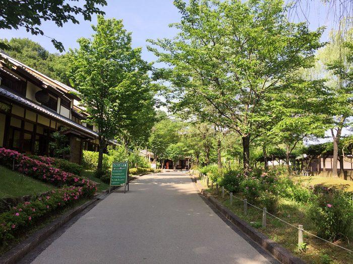 ウォーキング in 日本昭和村