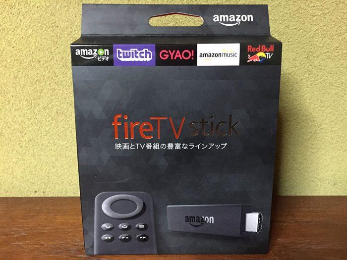 Fire TV Stick/商品パッケージ