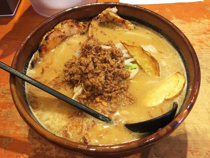 麺屋壱正/北海道味噌 こだわりの炙りチャーシュー麵