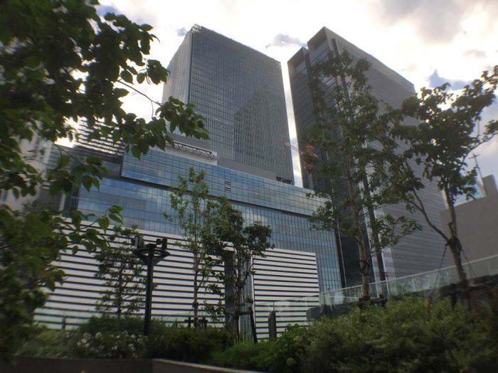 大名古屋ビルヂング5F「スカイガーデン」からの景色