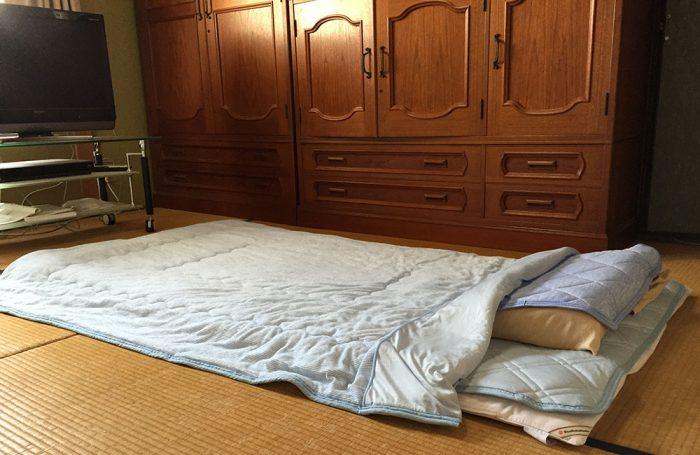 ニトリNクール寝具3点セット(敷パッド/肌ふとん/ピローパッド)