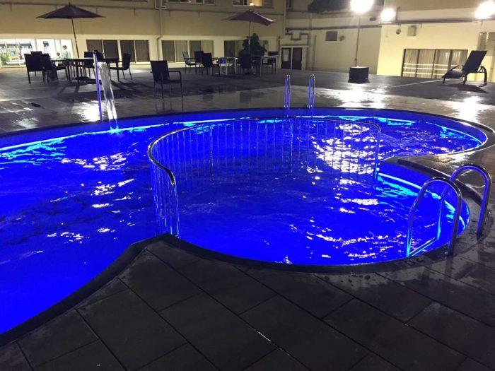 リブマックスリゾート加賀山代の屋外プール