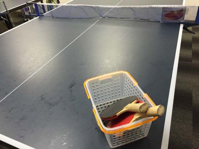 リブマックスリゾート加賀山代で卓球