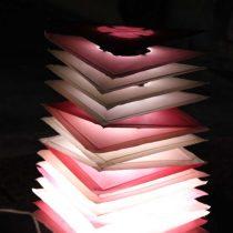 美濃和紙あかりアート展の写真