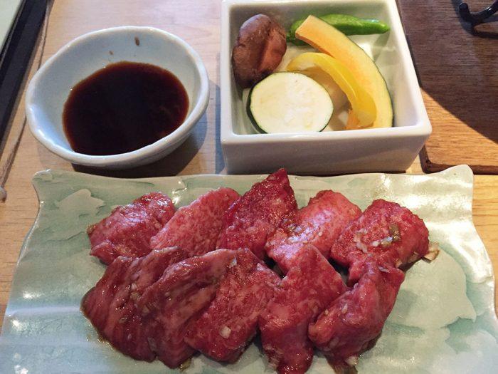 馬喰一代(各務原店)/飛騨牛のお肉