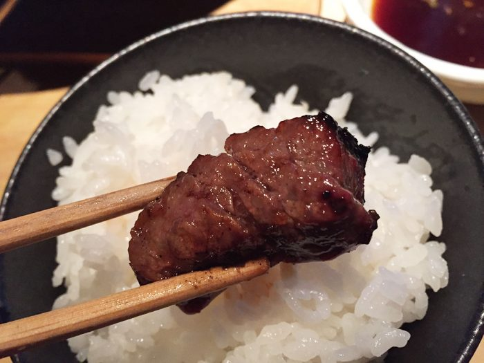 馬喰一代(各務原店)/ご飯&飛騨牛のお肉