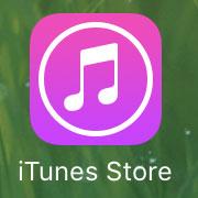 iTunes Storeアプリ