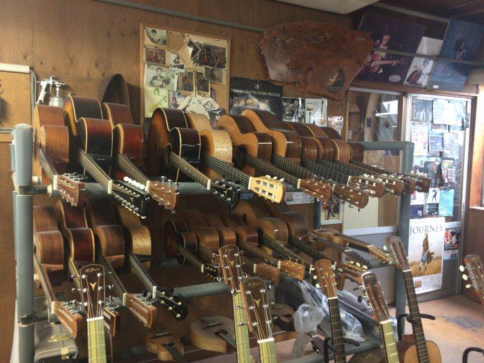 ヤイリギター工場見学