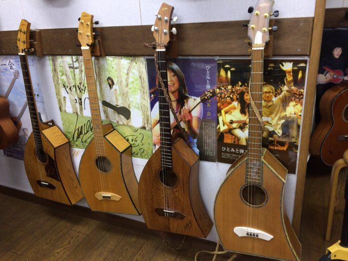 ヤイリギターショールーム