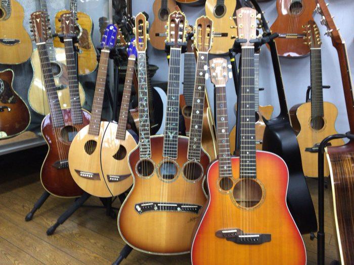 ヤイリギターショールーム/特殊なギター