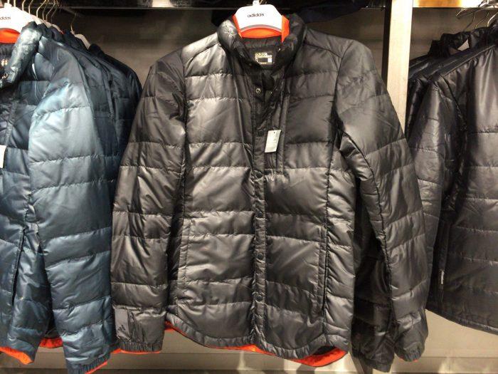 アディダス土岐プレミアムアウトレット店/購入したジャケット
