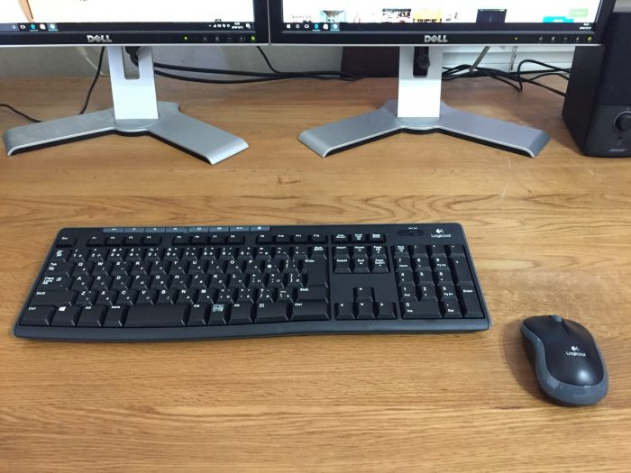 ワイヤレスキーボード&ワイヤレスマウス