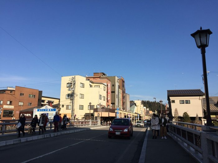 高山市の鍛冶橋