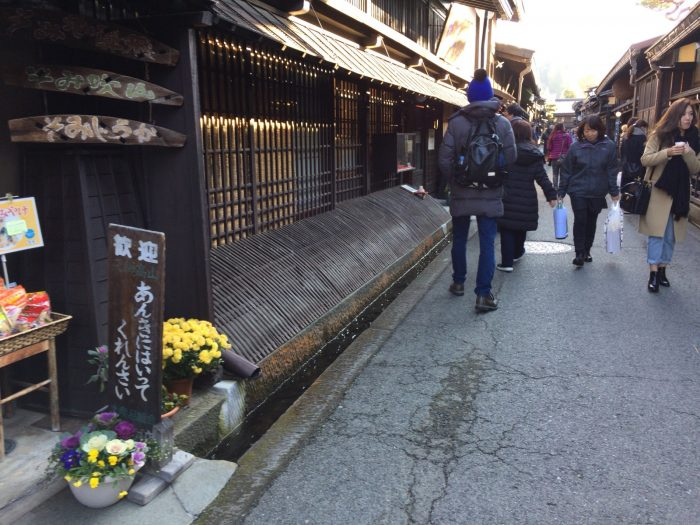 Old townscape of Takayama