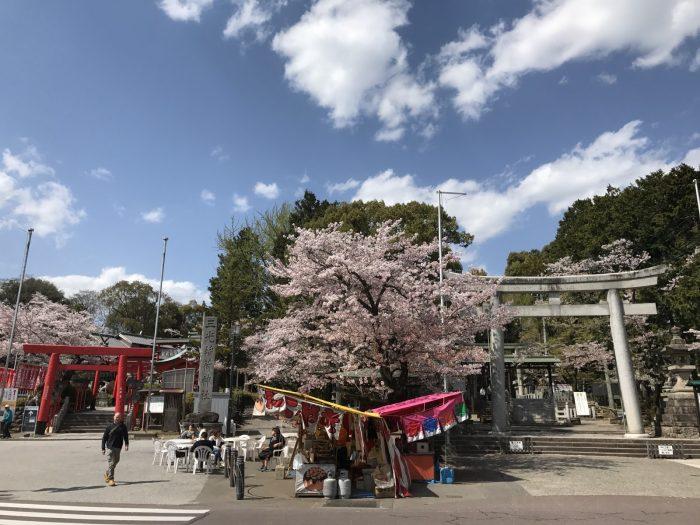 左/三光稲荷神社・右/針綱神社