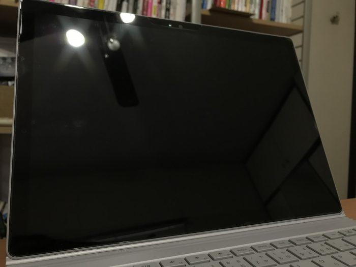 Surface Bookの保護フィルム
