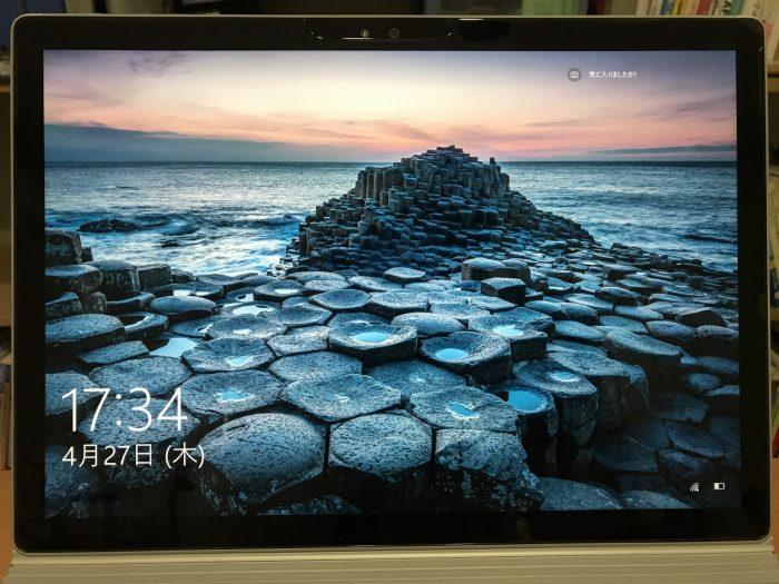 Surface Book専用 強化ガラス液晶保護フィルム