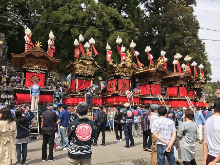 久田見まつりの山車(6台)