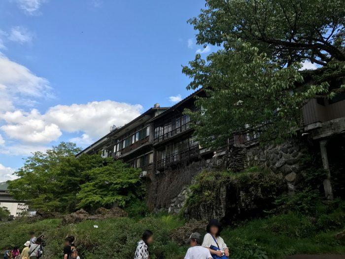 吉田川沿い