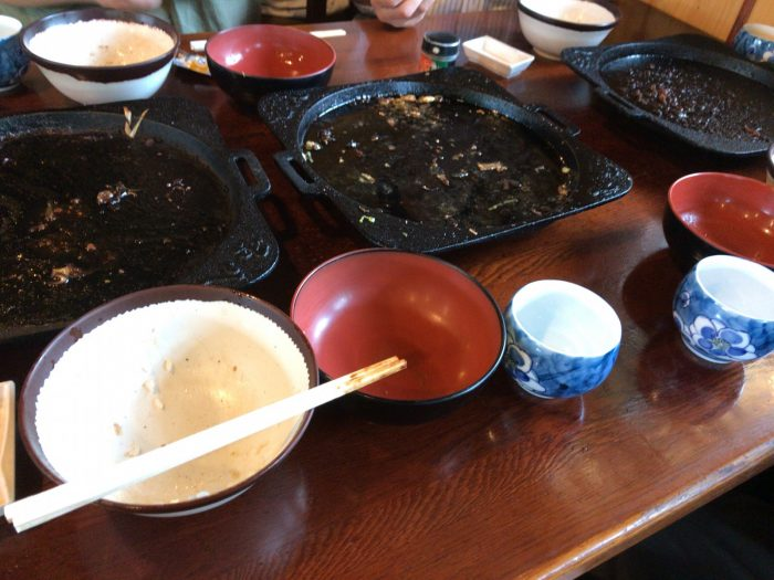 国八食堂で昼食を完食