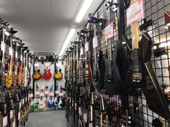 谷口楽器の左利きギター