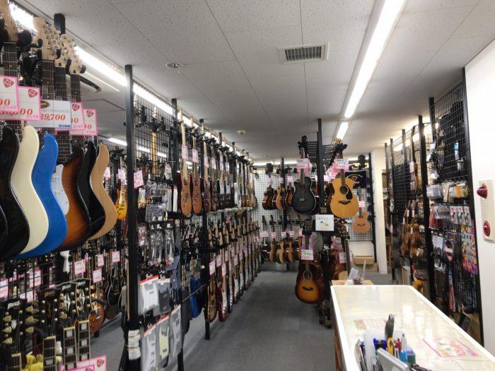 谷口楽器のレフティーギター