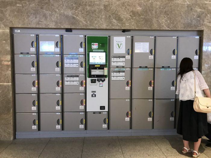 東京駅のコインロッカー