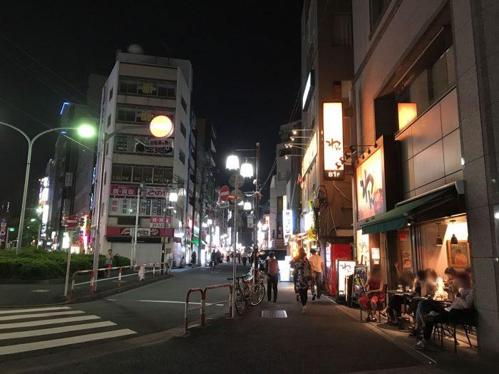 大塚駅北口の飲み屋街