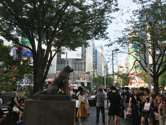 渋谷の忠犬ハチ公