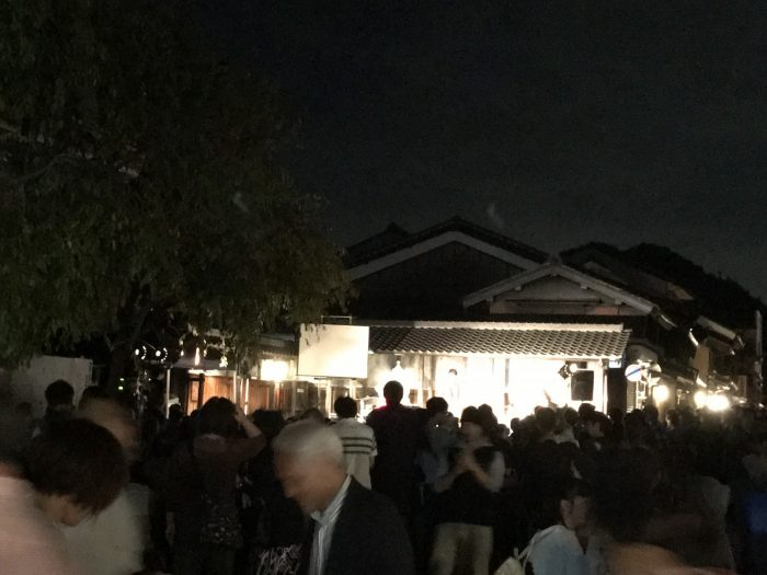 ライブ 美濃和紙あかりアート展