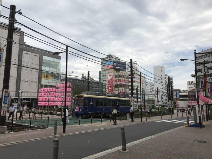 大塚の路面電車
