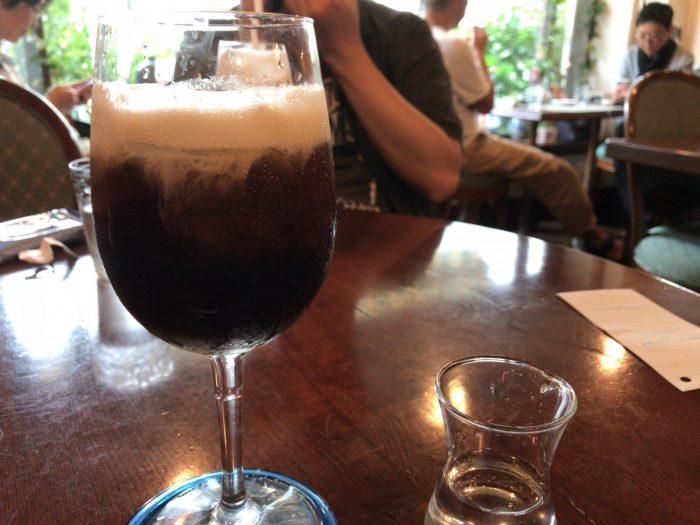 マルディグラのアイスコーヒー