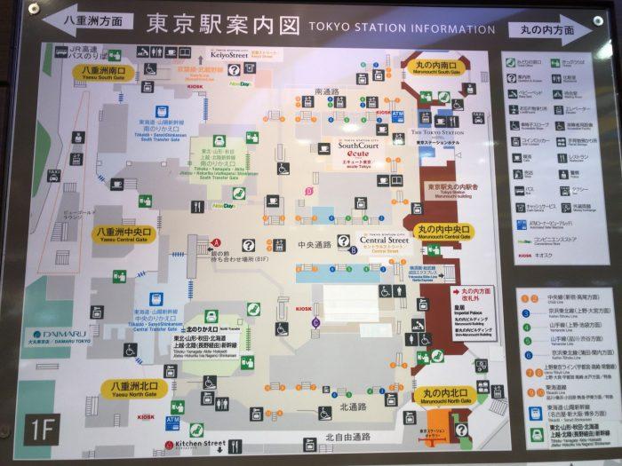 東京駅案内図