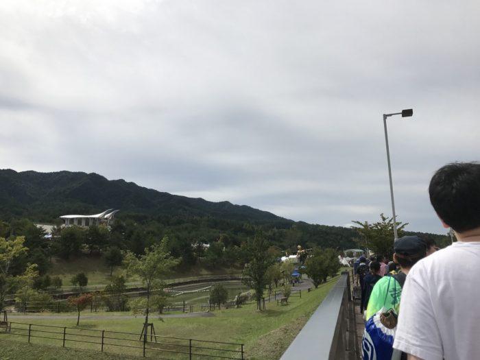 中津川公園に到着|中津川ソーラー
