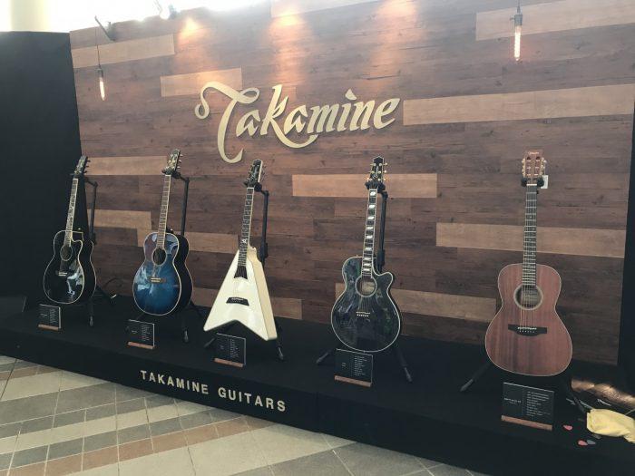 Takamineのギター展示ブース|中津川ソーラー