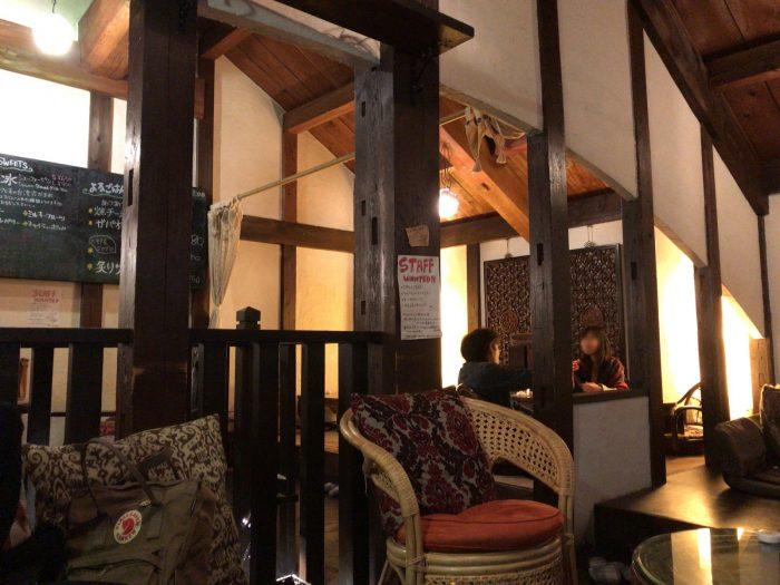 アジアンテイストな店内|Natural Cafe&Gallery 蔵