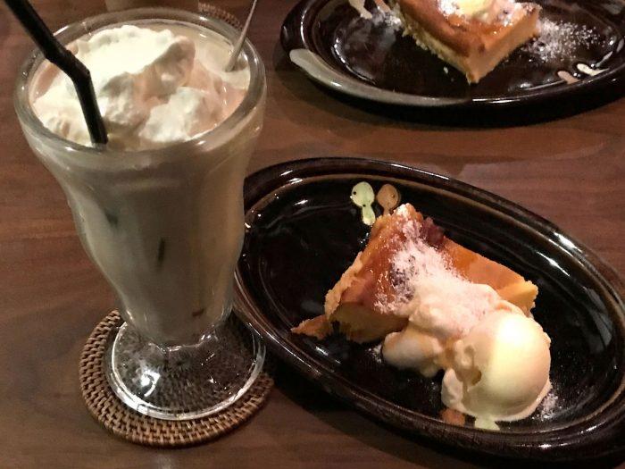 オージーアイスコーヒー+本日のクラフティ|Natural Cafe&Gallery 蔵