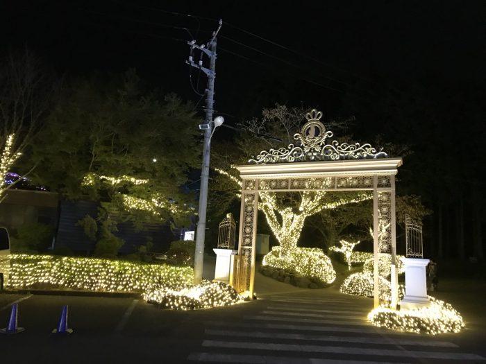 王宮の丘の入口