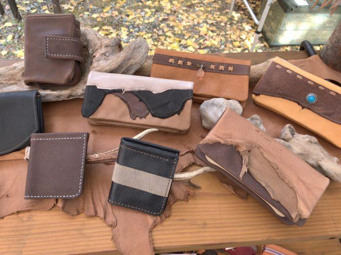 手作りレザー財布