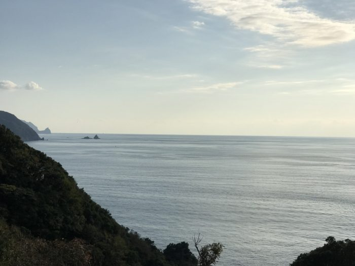 海|恋人岬からの景色