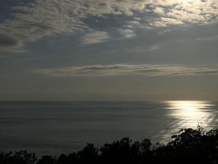 恋人岬の展望台からの景色