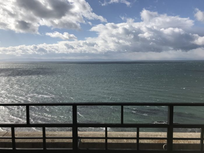 海が見える露天風呂|粛海風