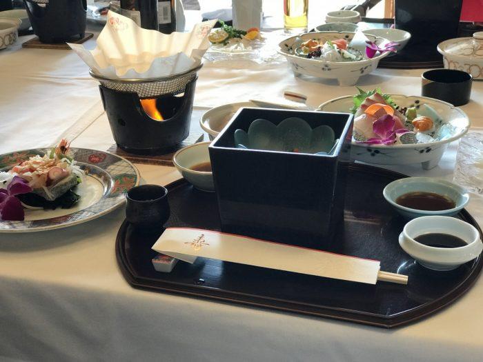 粛海風の昼食「海鮮会席」
