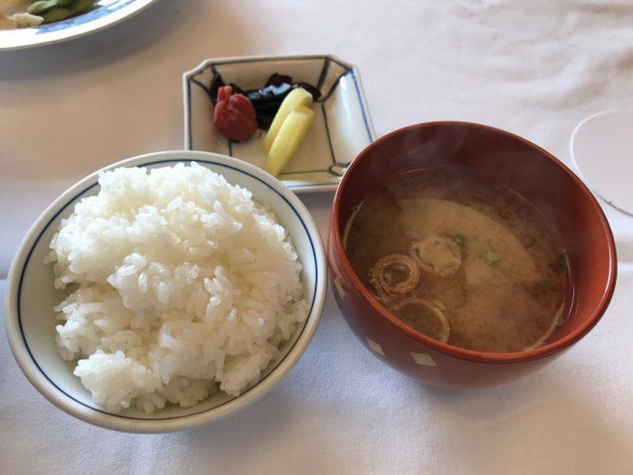 ご飯+味噌汁+漬物|粛海風