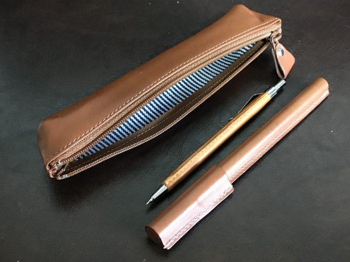 鎌倉帆布巾のペンケース・ボールペン・シャーペン